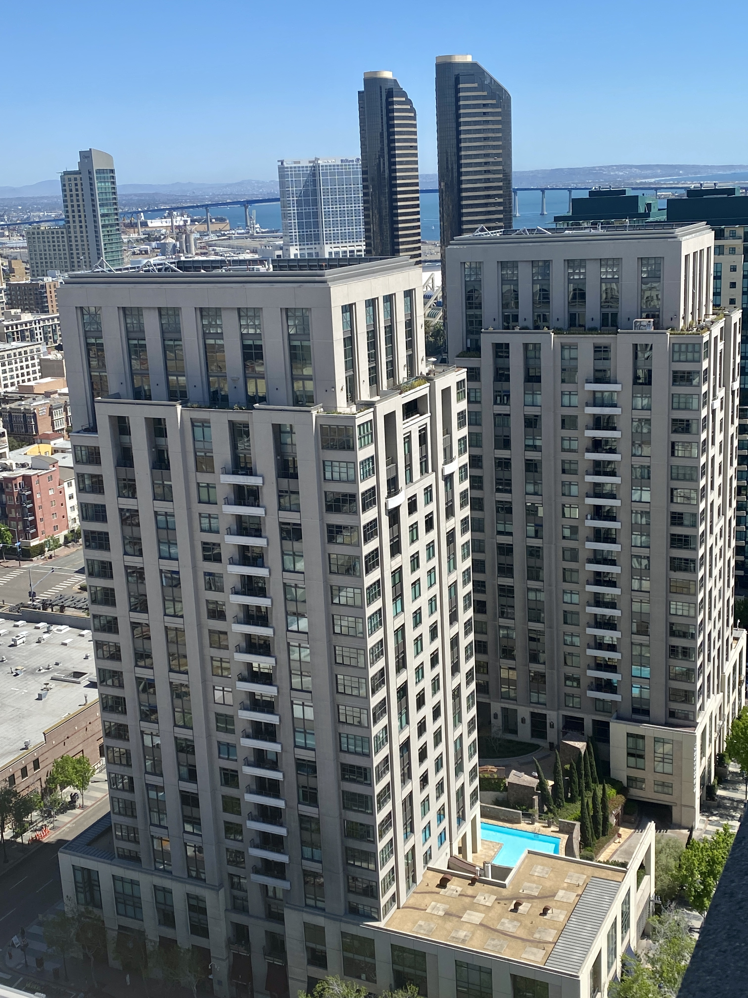 renaissance condos picture of outside of building san diego